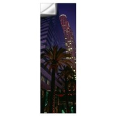 Low angle view of buildings in a city, City of Los Wall Decal