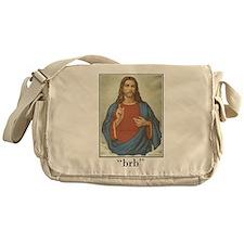 BRB JESUS (BE RIGHT BACK) Messenger Bag