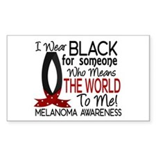 Means World To Me 1 Melanoma Decal