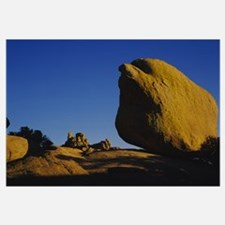 Rock Formations on a mountain, Dragoon Mountains,