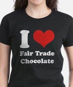 I Heart Fair Trade Chocolate Tee