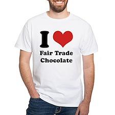 I Heart Fair Trade Chocolate Shirt