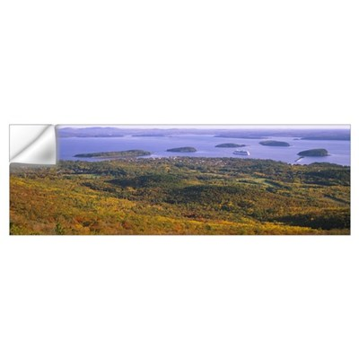 Islands in the sea, Porcupine Islands, Acadia Nati Wall Decal