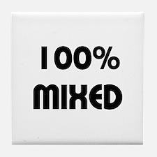 Multiracial/Biracial Pride Tile Coaster