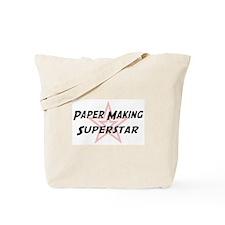 Paper Making Superstar Tote Bag