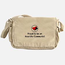 Proud Anarcho-Communist Messenger Bag