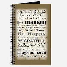Family rules God Journal