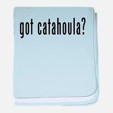 GOT CATAHOULA baby blanket