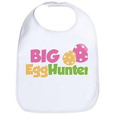 Easter Girl Big Egg Hunter Bib