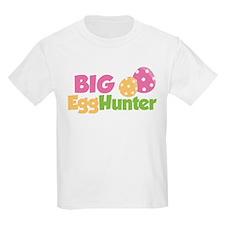 Easter Girl Big Egg Hunter T-Shirt