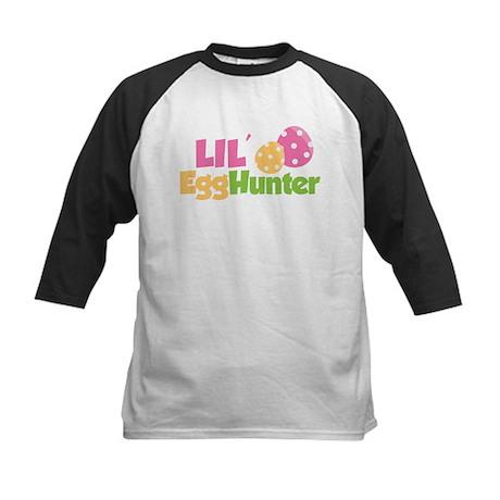 Easter Girl Lil' Egg Hunter Kids Baseball Jersey