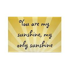 Sunshine Rectangle Magnet