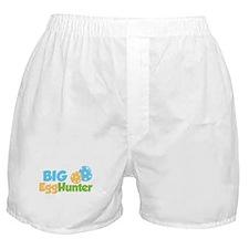 Easter Boy Big Egg Hunter Boxer Shorts