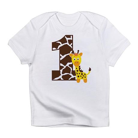 Giraffe 1st Birthday Infant T-Shirt