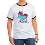 Bull Terrier Pawprints Ringer T
