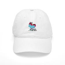 Bull Terrier Pawprints Baseball Cap