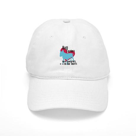 Bull Terrier Pawprints Cap
