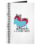 Bull Terrier Pawprints Journal