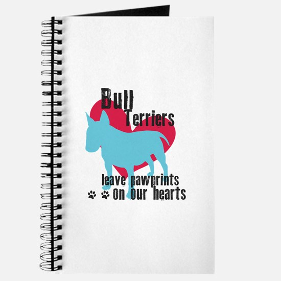 Bull Terrier Pawprints Journal