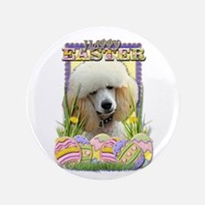 """Easter Egg Cookies - Poodle 3.5"""" Button (100 pack)"""