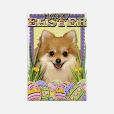 Easter Egg Cookies - Pom Rectangle Magnet