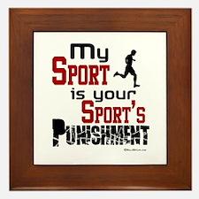 My Sport Framed Tile