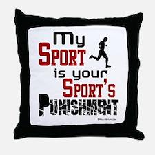 My Sport Throw Pillow