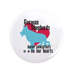 German Shepherd Pawprints 3.5