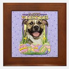 Easter Egg Cookies - Pom Framed Tile