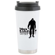 I believe in Bigfoot (2) Travel Mug