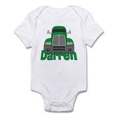 Trucker Darren Infant Bodysuit