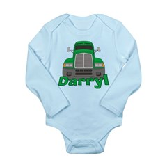 Trucker Darryl Long Sleeve Infant Bodysuit