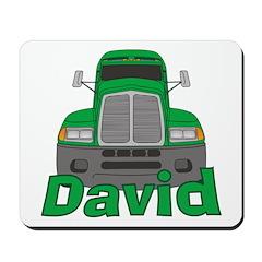 Trucker David Mousepad