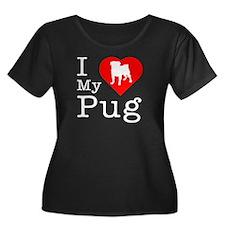 I Love My Pug T