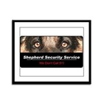Shepherd Security Service Framed Panel Print