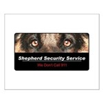 Shepherd Security Service Small Poster