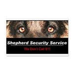 Shepherd Security Service 22x14 Wall Peel