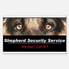 Shepherd Security Service Bumper Stickers