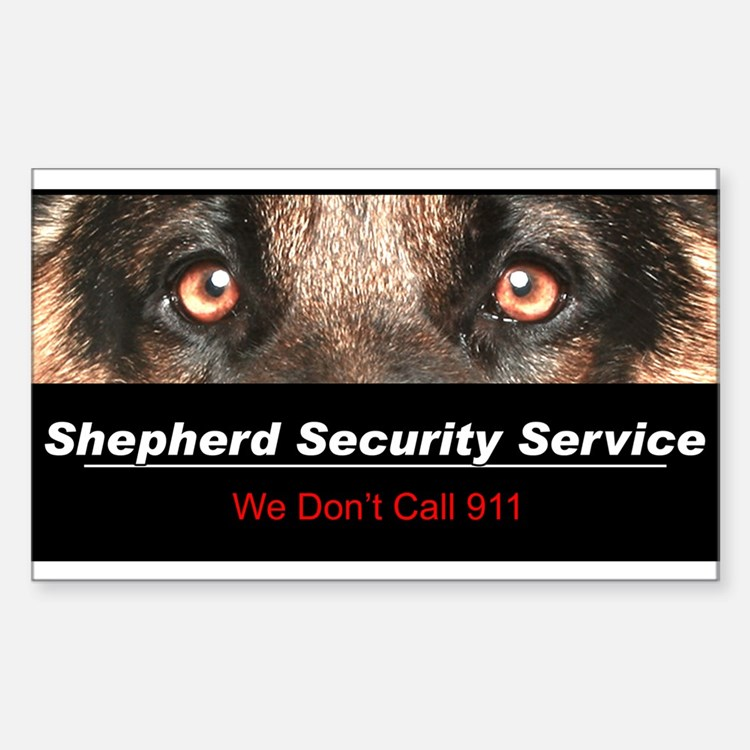 Shepherd Security Service Decal