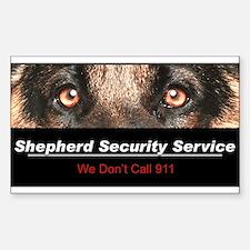 Shepherd Security Service Stickers