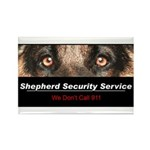 Shepherd Security Service Rectangle Magnet (100 pa