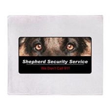 Shepherd Security Service Throw Blanket