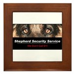 Shepherd Security Service Framed Tile