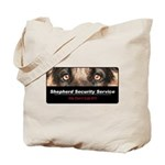 Shepherd Security Service Tote Bag