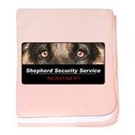 Shepherd Security Service baby blanket
