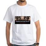 Shepherd Security Service White T-Shirt