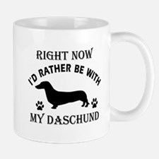 Daschund Dog Breed Designs Mug