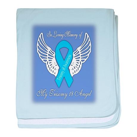 Trisomy 18 Angel Boy baby blanket