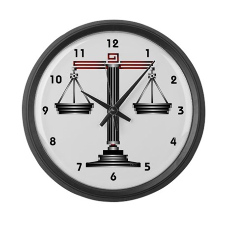 Libra Large Wall Clock