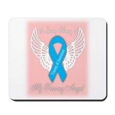 Trisomy 18 angel girl Mousepad